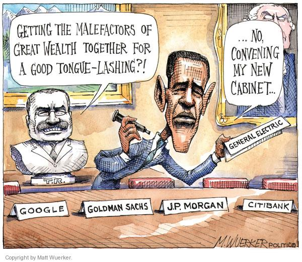 Matt Wuerker  Matt Wuerker's Editorial Cartoons 2011-01-25 Google
