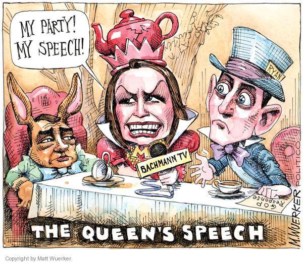 Matt Wuerker  Matt Wuerker's Editorial Cartoons 2011-01-27 mad