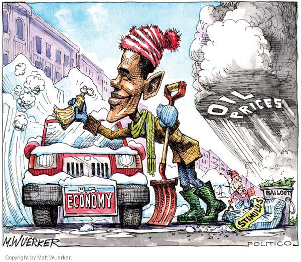 Cartoonist Matt Wuerker  Matt Wuerker's Editorial Cartoons 2011-02-03 president
