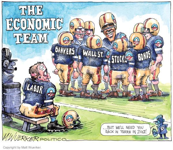 Cartoonist Matt Wuerker  Matt Wuerker's Editorial Cartoons 2011-02-07 banker
