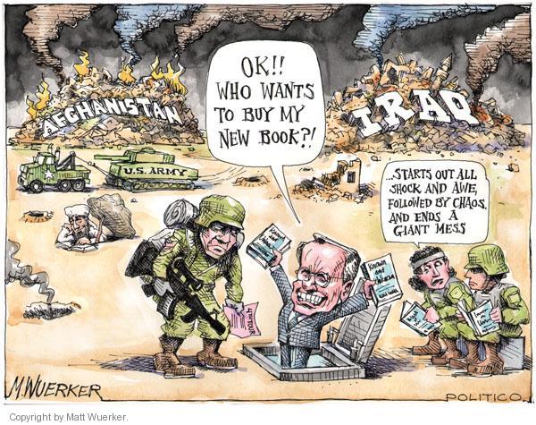 Cartoonist Matt Wuerker  Matt Wuerker's Editorial Cartoons 2011-02-08 army