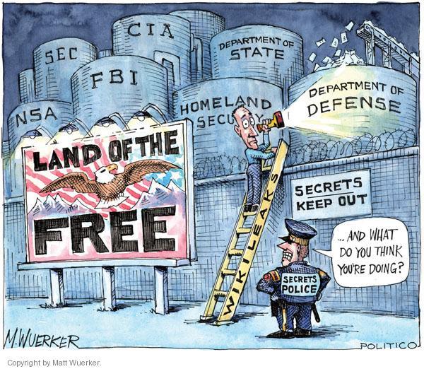 Cartoonist Matt Wuerker  Matt Wuerker's Editorial Cartoons 2011-03-07 State Department