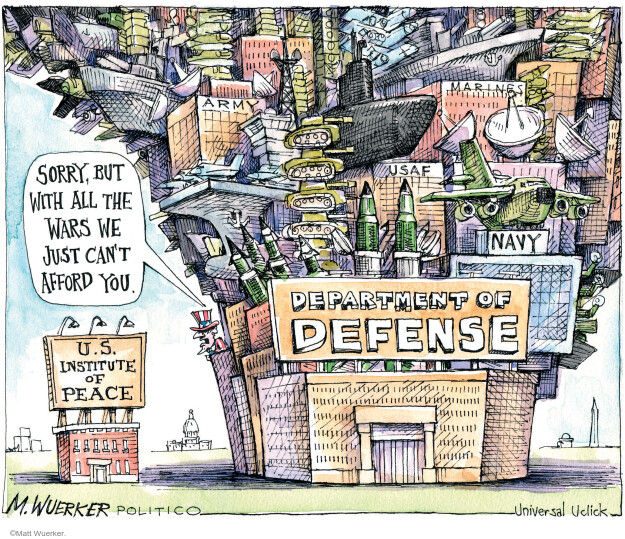 Cartoonist Matt Wuerker  Matt Wuerker's Editorial Cartoons 2011-03-30 federal budget