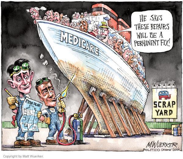 Cartoonist Matt Wuerker  Matt Wuerker's Editorial Cartoons 2011-04-11 government