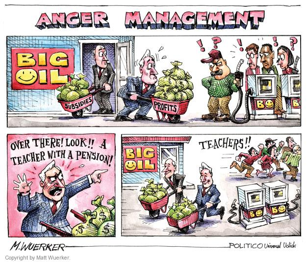 Cartoonist Matt Wuerker  Matt Wuerker's Editorial Cartoons 2011-05-06 executive