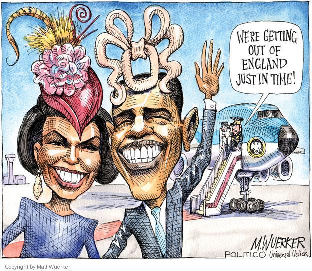 Cartoonist Matt Wuerker  Matt Wuerker's Editorial Cartoons 2011-05-25 president