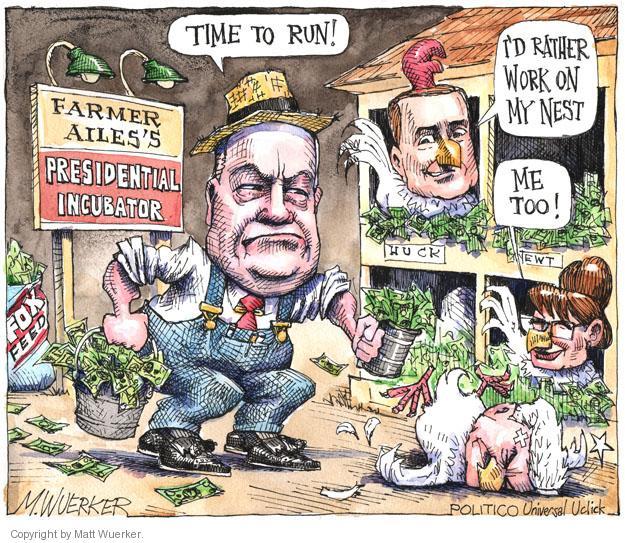Cartoonist Matt Wuerker  Matt Wuerker's Editorial Cartoons 2011-05-26 show time
