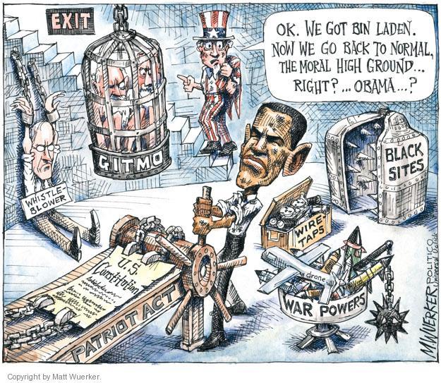 Cartoonist Matt Wuerker  Matt Wuerker's Editorial Cartoons 2011-06-03 president