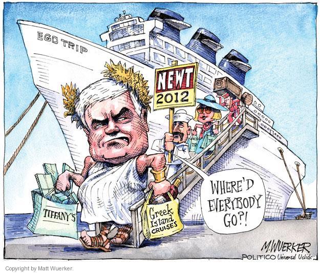 Matt Wuerker  Matt Wuerker's Editorial Cartoons 2011-06-13 island