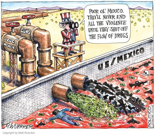 Cartoonist Matt Wuerker  Matt Wuerker's Editorial Cartoons 2011-06-29 firearm