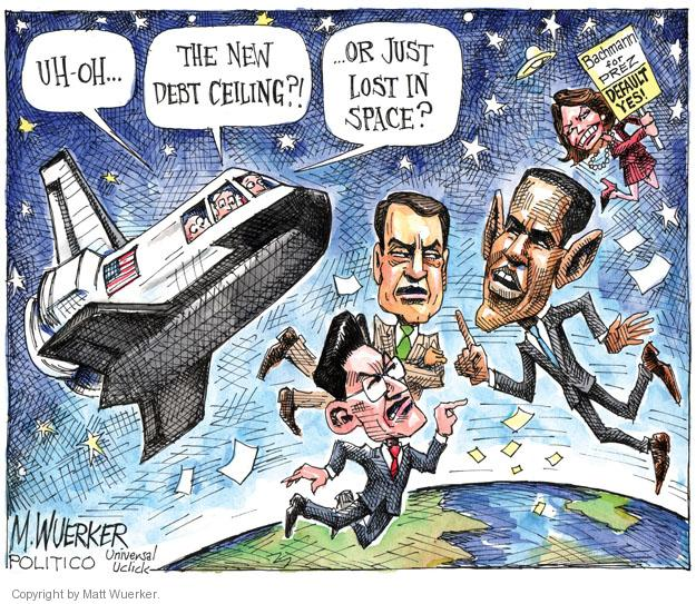 Cartoonist Matt Wuerker  Matt Wuerker's Editorial Cartoons 2011-07-13 federal budget