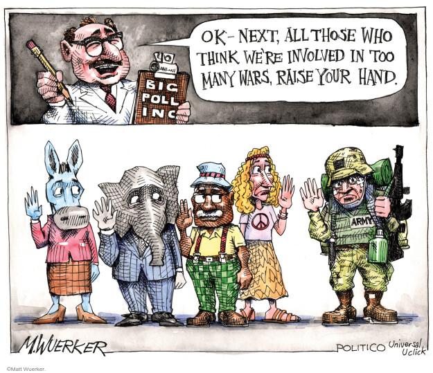 Cartoonist Matt Wuerker  Matt Wuerker's Editorial Cartoons 2011-07-06 public opinion
