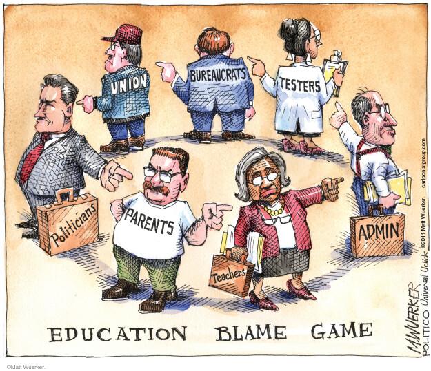 Cartoonist Matt Wuerker  Matt Wuerker's Editorial Cartoons 2011-06-14 public education