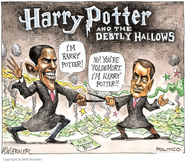 Cartoonist Matt Wuerker  Matt Wuerker's Editorial Cartoons 2011-07-26 federal budget