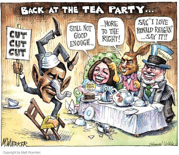 Cartoonist Matt Wuerker  Matt Wuerker's Editorial Cartoons 2011-07-29 federal budget
