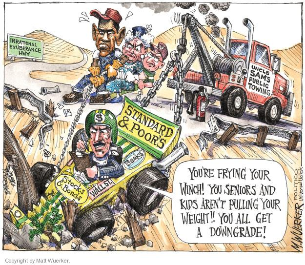 Cartoonist Matt Wuerker  Matt Wuerker's Editorial Cartoons 2011-08-11 federal budget