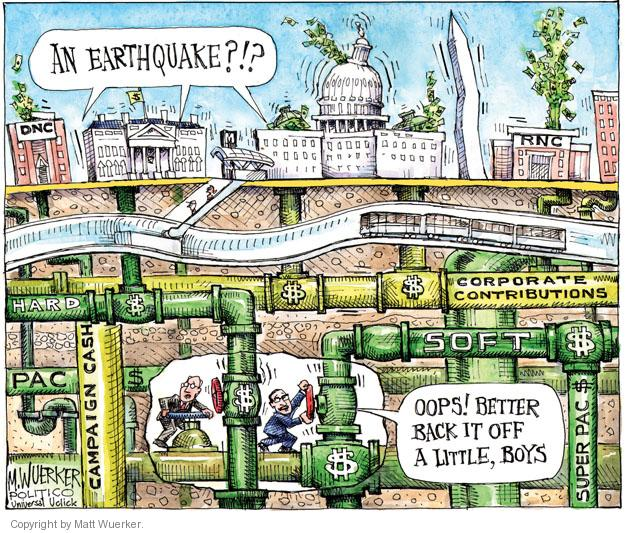Matt Wuerker  Matt Wuerker's Editorial Cartoons 2011-08-24 disaster