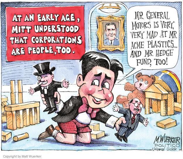 Matt Wuerker  Matt Wuerker's Editorial Cartoons 2011-09-14 mad
