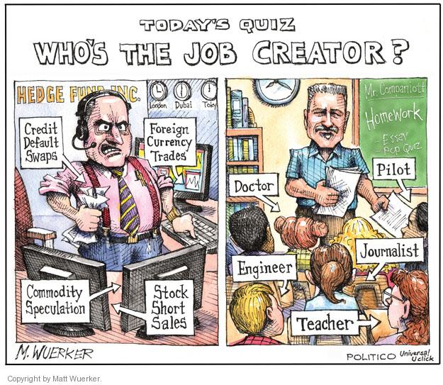 Cartoonist Matt Wuerker  Matt Wuerker's Editorial Cartoons 2011-09-15 fund