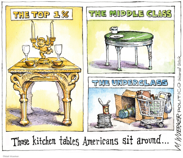 Cartoonist Matt Wuerker  Matt Wuerker's Editorial Cartoons 2011-09-21 poverty
