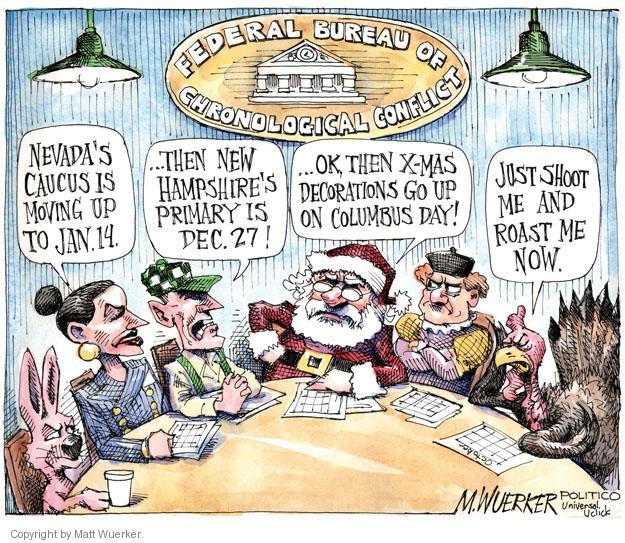 Cartoonist Matt Wuerker  Matt Wuerker's Editorial Cartoons 2011-10-21 conflict