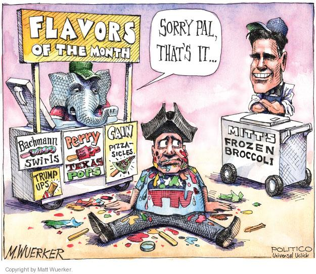 Cartoonist Matt Wuerker  Matt Wuerker's Editorial Cartoons 2011-10-26 Texas