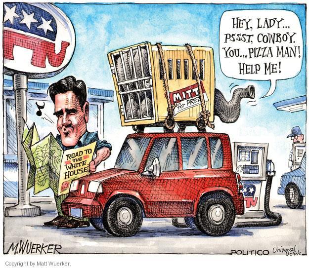 Matt Wuerker  Matt Wuerker's Editorial Cartoons 2011-11-07 road