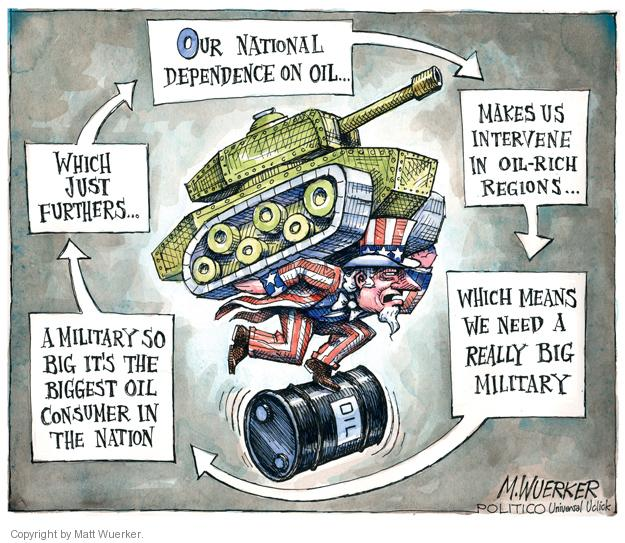 Cartoonist Matt Wuerker  Matt Wuerker's Editorial Cartoons 2011-11-25 international war