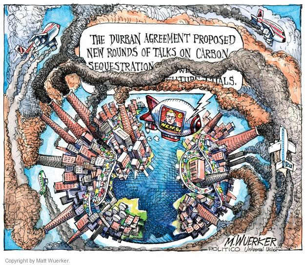 Matt Wuerker  Matt Wuerker's Editorial Cartoons 2011-12-16 environment