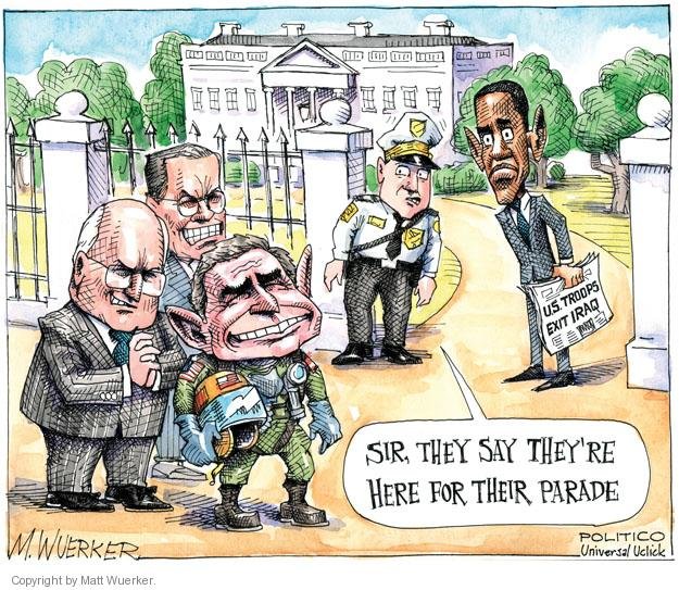 Cartoonist Matt Wuerker  Matt Wuerker's Editorial Cartoons 2011-12-22 Dick Cheney