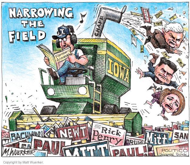 Matt Wuerker  Matt Wuerker's Editorial Cartoons 2012-01-04 Republican voter