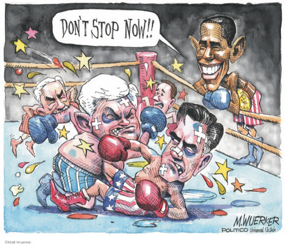 Matt Wuerker  Matt Wuerker's Editorial Cartoons 2012-02-01 2012 primary