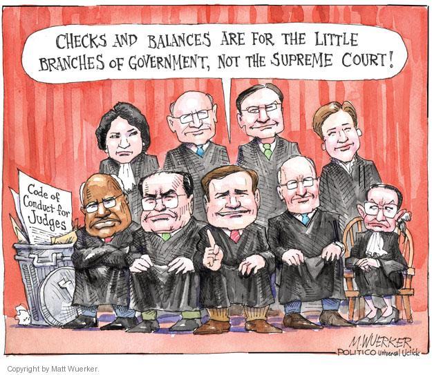 Cartoonist Matt Wuerker  Matt Wuerker's Editorial Cartoons 2012-02-09 separation of powers