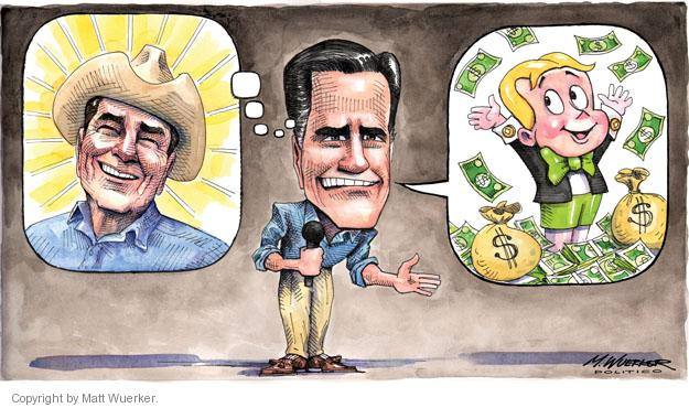 Cartoonist Matt Wuerker  Matt Wuerker's Editorial Cartoons 2012-02-13 image