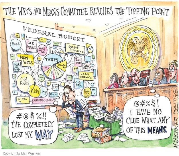 Matt Wuerker  Matt Wuerker's Editorial Cartoons 2012-02-24 federal budget