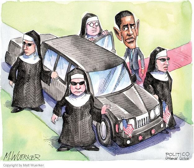 Cartoonist Matt Wuerker  Matt Wuerker's Editorial Cartoons 2012-04-23 government secrecy