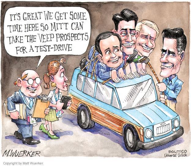 Cartoonist Matt Wuerker  Matt Wuerker's Editorial Cartoons 2012-04-25 drive
