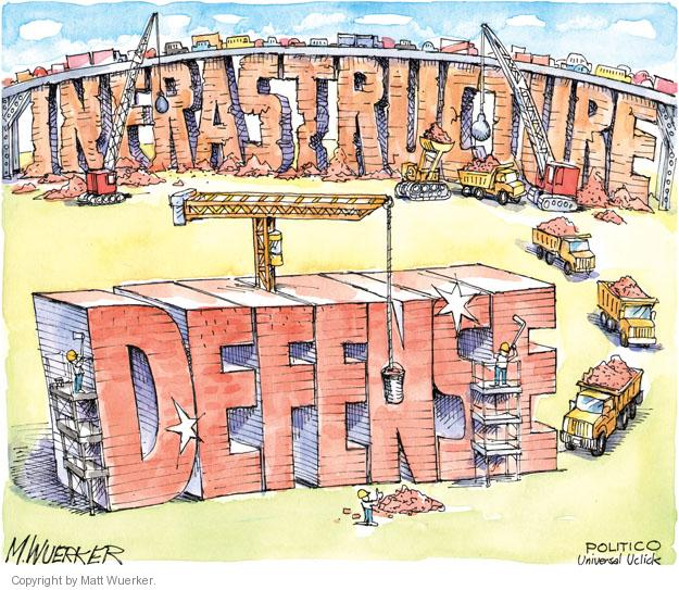 Infrastructure. Defense.