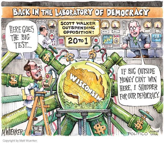 Matt Wuerker  Matt Wuerker's Editorial Cartoons 2012-05-31 democracy