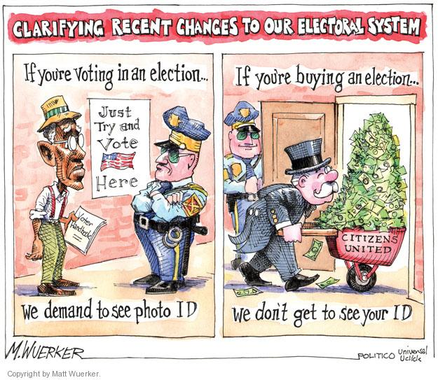 Matt Wuerker  Matt Wuerker's Editorial Cartoons 2012-05-03 voter identification