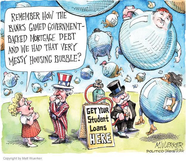 Cartoonist Matt Wuerker  Matt Wuerker's Editorial Cartoons 2012-06-11 debt