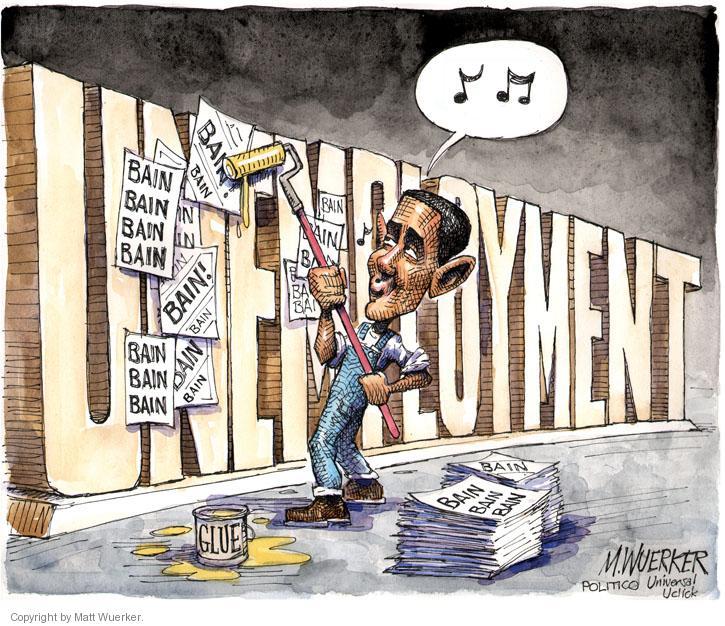 Cartoonist Matt Wuerker  Matt Wuerker's Editorial Cartoons 2012-07-23 unemployment