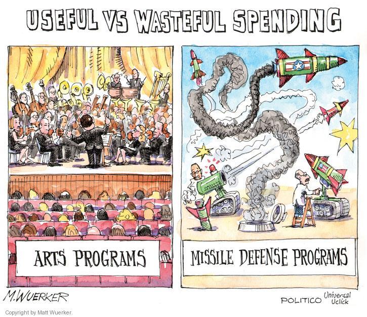 Cartoonist Matt Wuerker  Matt Wuerker's Editorial Cartoons 2012-07-26 military spending