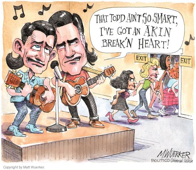 Cartoonist Matt Wuerker  Matt Wuerker's Editorial Cartoons 2012-08-23 congresswoman