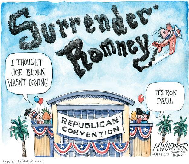 Matt Wuerker  Matt Wuerker's Editorial Cartoons 2012-08-30 Joe Biden