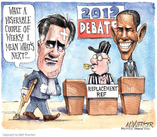 Cartoonist Matt Wuerker  Matt Wuerker's Editorial Cartoons 2012-10-01 2012 election