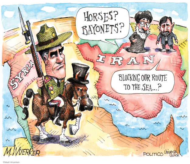 Cartoonist Matt Wuerker  Matt Wuerker's Editorial Cartoons 2012-10-24 mideast