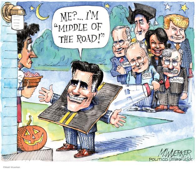 Matt Wuerker  Matt Wuerker's Editorial Cartoons 2012-10-29 Halloween