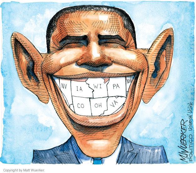 Matt Wuerker  Matt Wuerker's Editorial Cartoons 2012-11-08 Iowa election