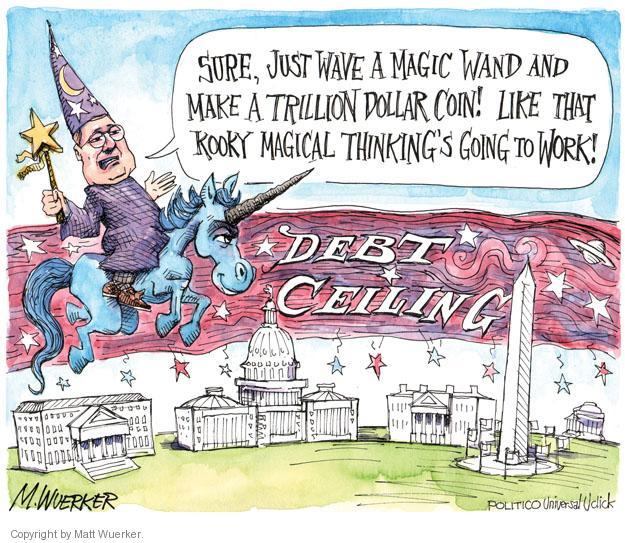 Cartoonist Matt Wuerker  Matt Wuerker's Editorial Cartoons 2013-01-14 debt